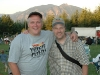 Steve and Mark at Snoqualmie Ampitheater